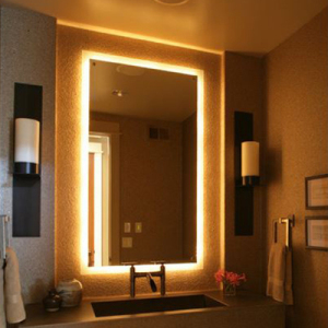 Hotel art work custom manufactured product categories for Mirror hotel